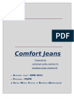 Project report on starting a new business.... ( Comfort Jeans)