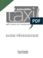 Le Nouveau Taxi 3 Guide Pedagogique