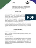 Convocatoria para implementación Modelos de Nanofranquicias en Soledad