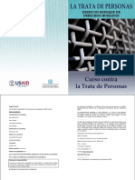 La Trata de Personas Desde Un Enfoque de DDHH Curso Contra La Trata de Personas de OIM