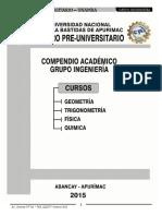 Compendio 2015-II Grupo Ingenierias