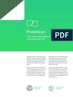 Agisoft PhotoScan Presentation