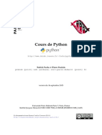 Cours Python