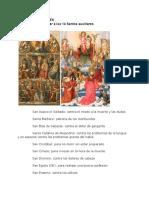 Oración de Gran Poder a Los 14 Santos Auxiliares