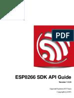 2c-Sdk-espressif Iot Sdk Programming Guide v1.0.0