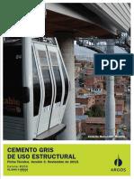 Cemento Gris de Uso Estructural