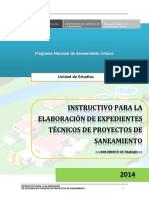 Instructivo Para La Elaboracion de e.t. 05.03.14 Final(Pnsu)