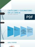 Criticismo y Dogmatismo en La Ciencia