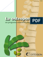 Osteoporosis - Un Plan de Programa Educativo Para Adultos