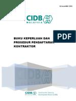 Buku Baru CIDB 2015