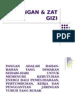 Pangan & Zat Gizi
