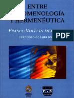 Entre Fenomenologia y Hermeneútica