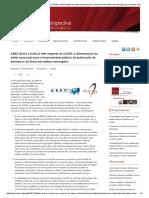 ABEC Brasil e SciELO Vêm Requerer Da CAPES a Reformulação Do Edital Anunciado Para o Financiamento Público de Publicação de Periódicos Do Brasil Por Editora Estrangeira _ SciELO Em Perspectiva