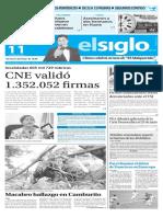 Edicion Impresa El Siglo 11-06-2016