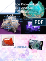 Minerals chemistry