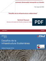 Desafios Dela Infraestructura Subterranea Hartmut Claussen CTES