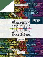 Livro Alimentos Regionais Brasileiros