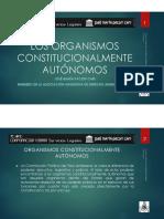 Los Organismos Constitucionalmente Autónomos - Autor José María Pacori Cari
