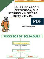 Diapositiva(PPT) Soldadura de Arco y Oxiacetilénica Sin la parte química