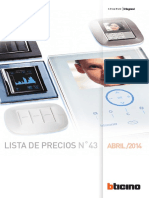 Lista de Precios-lp Bt Abril 2014
