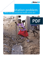 The Sanitation Problem What Can and Should the Health Sector Do