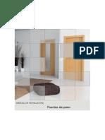 Manual de Instalación Puertas de Paso