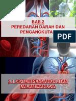 Sains t3 Bab 2 - Peredaran Darah Dan Pengangkutan (Complete)