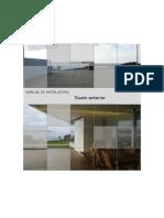 Manual de Instalación Suelo Exterior
