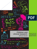 Children and Clinical Research Full Report