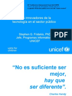 Stephen Fridakis Innovative Uses of Technology in the Public Sector Espanol