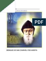 Mensaje de San Charvel Por Agesta