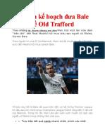 MU Lên Kế Hoạch Đưa Bale Về Old Trafford