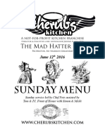 12062016 Sunday Menu - Hatter
