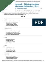 Set 1 _ Fundamentals of Computer