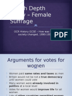 female suffrage  1