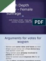 female suffrage  1