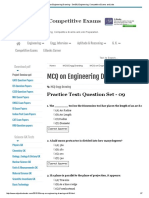MCQ on Engineering Drawing - Set 09 _ Engineering, Competitive Exams and Jobs