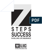 7 Steps to Success in Selling Life Insurance