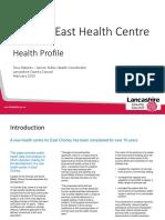 Chorley East Health Centre - Health Profile