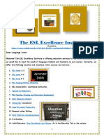 ESL and Spanish Online Courses Marketing Flyer