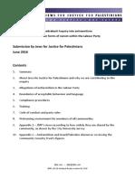 Chakrabarti Inquiry JfJfP Submission