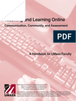 Teaching and Learning Online Handbook