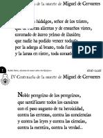 Letanía de nuestro Señor Don Quijote (Rubén Darío)