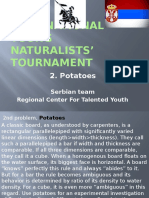 Engleski 2. Zadatak, 2nd International Young Naturalists' Tournament