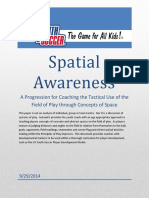 US Youth Soccer Player Development Model - Spatial Awareness