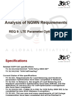 Analysis of NGMN Requirement 9 - LTE Parameter Optimization