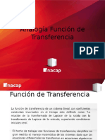 analogías de función de transferencia