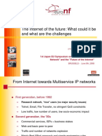 The Internet of the Future - What Could It Be and What Are the Challenges