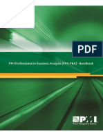 Professional Business Analsysis Handbook