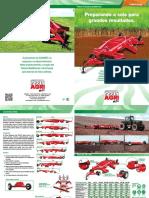 Plaina Niveladora Agrimec Robust 480